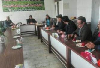 جلسه هماهنگی توزیع جو پشتیبانی اموردام استان سمنان توسط صندوق و شرکتها