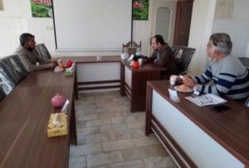 جلسه با صندوق بیمه کشاورزی استان